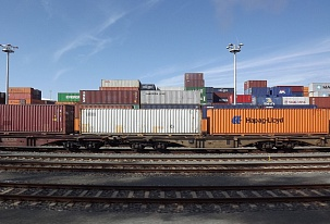 Railway Container Flows Between China & Europe Increased 2.5 Times